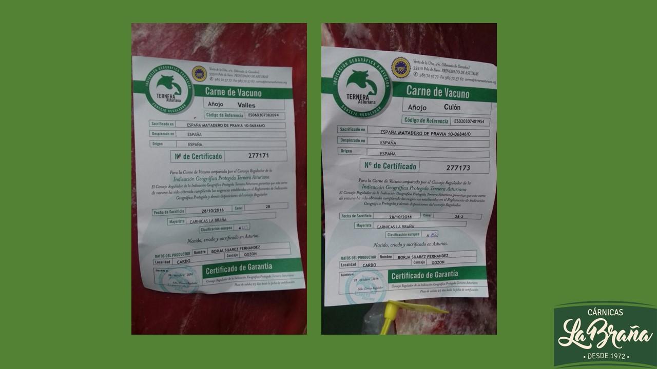 Certificados IGP